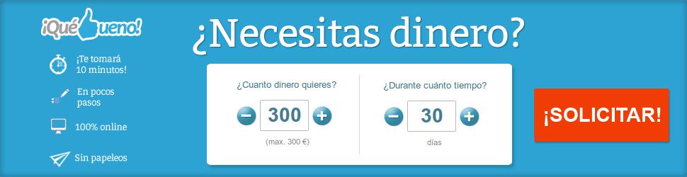 Solicitar créditos rápidos en QueBueno