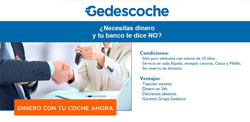 Condiciones del préstamo de Gedescoche